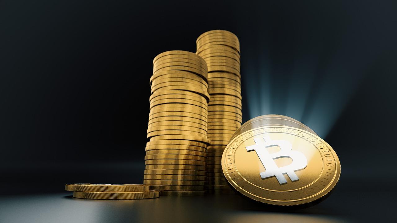 Photo illustrée d'une cryptomonnaie (parmi tant d'autres) appelée Bitcoin
